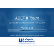 ABET II software for touch screens