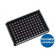 Heated plate and heated lid for ibidi Heating System, multi-well plates for Nikon Ti-S-E / Ti-S-ER